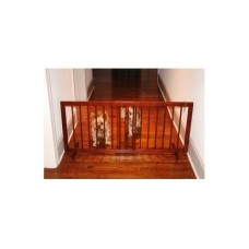Step Over Gate - Walnut