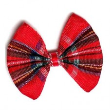 Holiday Plaid Designer Barrettes