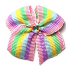 Groomer Stripes Bow