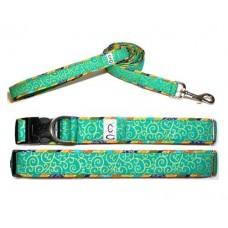 Swirl Dog Collar & Leash