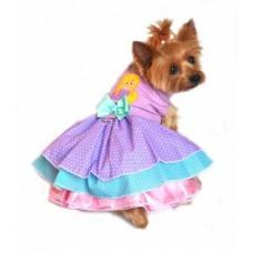 Polka Dot Mermaid Dress