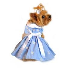 Denim Dog Dress