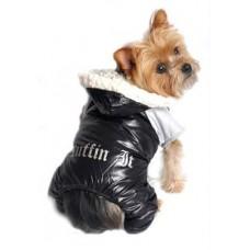 Dog Snow Suit - Black