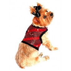 Ruby Red Harness and Leash