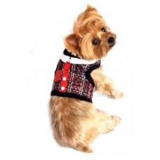 Tweed Dog Harness and Leash