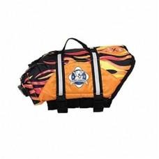 Racing Flames Dog Life Jacket