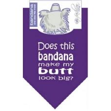 Big Butt Dog Bandana