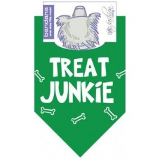 Treat Junkie Dog Bandana