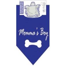 Momma's Boy Dog Bandana