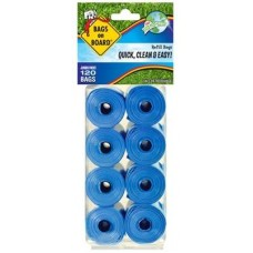 8 Rolls of Bags on Board Refill Pack (120 bags)