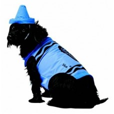 Blue Crayon Dog Costume