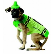Green Crayon Dog Costume