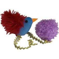 Bird 'n Ball Catnip Toy Duo