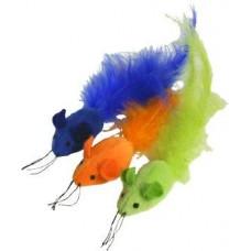 Feather Mice Trio