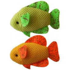 Neon Fish Catnip Toys