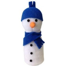 Sam Snowman Catnip Toy