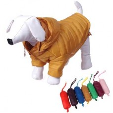Dog Coat with Popout Hood