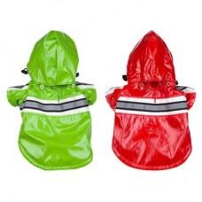 Glowing Dog Raincoat