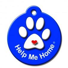 Help Me Home ID Tag