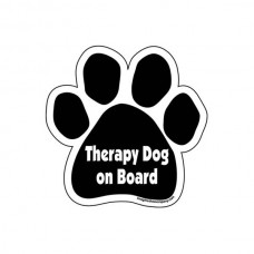 Therapy Dog Paw Magnet