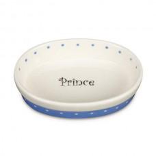 Polka Dot Prince Pet Dish