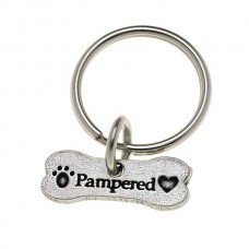 Pewter Keychain - Pampered