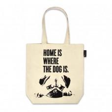 Dog Print Tote