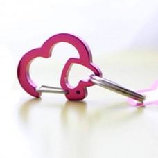Dog Tag Clip - Pink