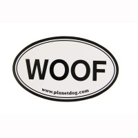 Woof Euro Sticker by Planet Dog