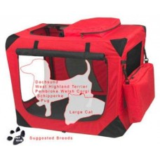 Deluxe Soft Crate - Small Red