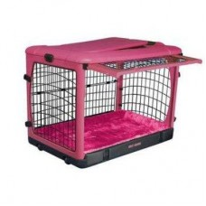 Steel Crate - Pink