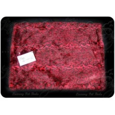 Red Leopard Mat Bed