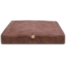 Chocolate Orthopedic Rectangle Bed