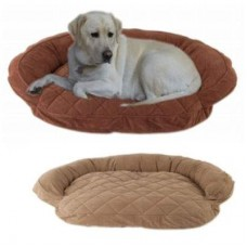 Microfiber Quilted Bolster Bed