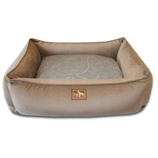 Coco Lounge Bed w/Scribble Grey Cover