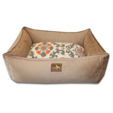 Camel Lounge Bed - Sunburst Cover