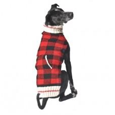 Buffalo Plaid Dog Sweater