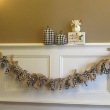 Buffalo Plaid Garland