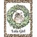 Lola Girl cat print
