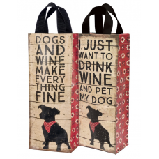 Dog Wine Tote - 4 Pack