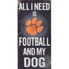 College Football Dog Sign