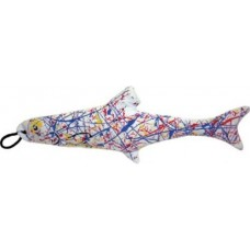 colorful fish cat toy
