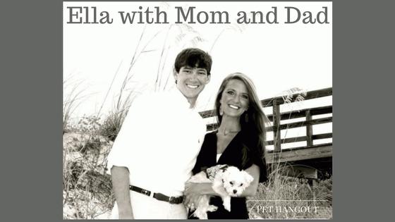 Ella with Mom and Dad