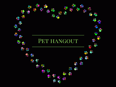 Pet hangout hearts