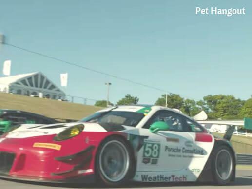 Denny's race car.