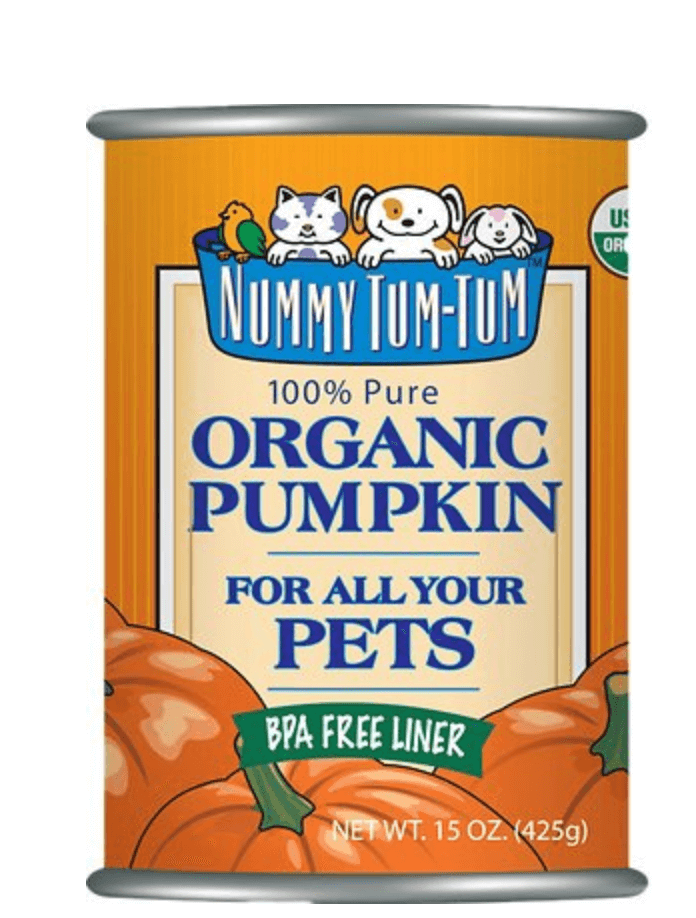 organic pumpkin additive for pets