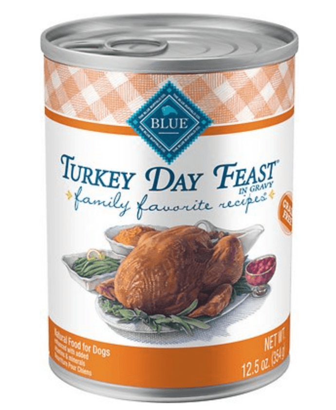 turkey day feast for dogs