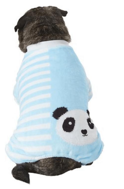 Panda dog and cat pjs.