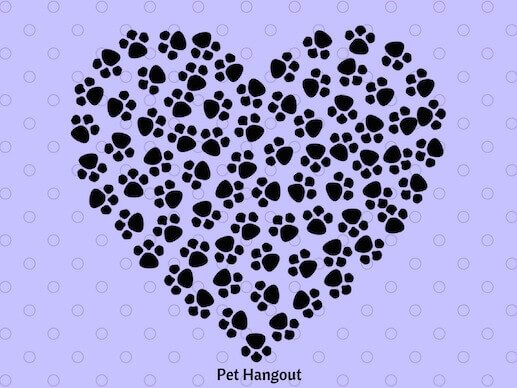 Their paw prints will be forever in your heart