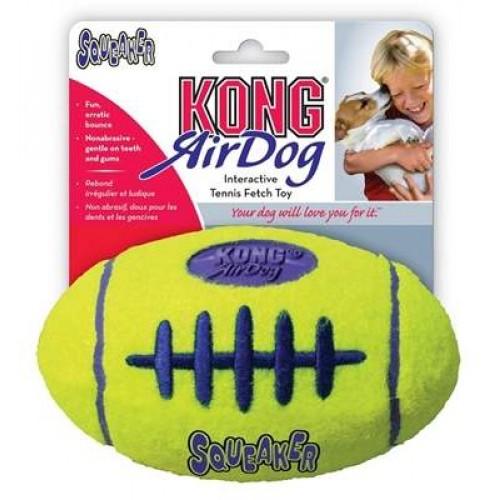 Air Kong Football dog toy